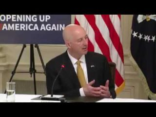 Nebraska Gov. Pete Ricketts praises the Trump administration's response to the coronavirus pandemic
