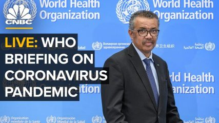 World Health Organization holds a briefing on the coronavirus outbreak – 8/13/2020